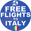 Free Flights To Italy